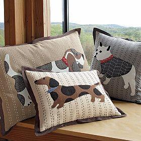 dachshund pillow. Love it!