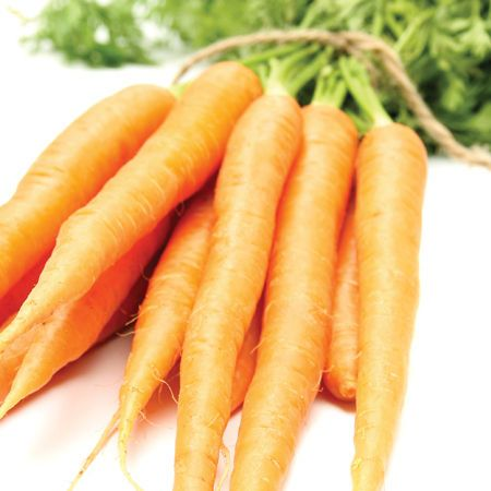 Carrots: Close your eyes and they almost taste like crunchy candy. Carrots pack complex carbs that provide energy to muscles and potassium to control blood pressure and muscle contractions, And a half cup has just 146 kilojoules.