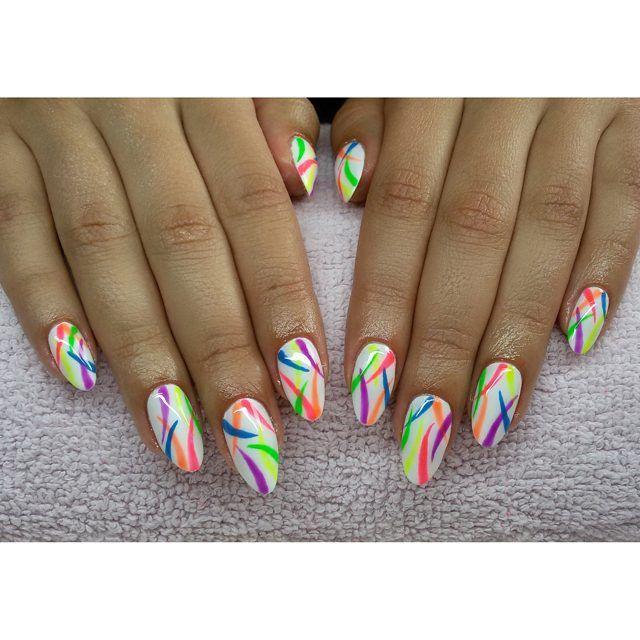 ❤ #semilac #diamondcosmetics #ilovesemilac #nailart #nails #hybryda #hybrid…