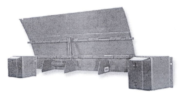 """#Dock Levelers correct height differences between loading docks, loading platforms and truck or trailer beds. VVS edge of dock leveler is designed to have a working range of 5"""" above and 5"""" below dock level.  http://www.vvsautomaticdoors.com/detail-vvs_edge_of_dock_leveler-6.htm"""