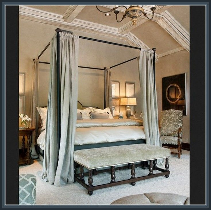 best 20+ king size canopy bed ideas on pinterest | canopy for bed