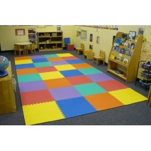 fill a playroom industrial carpetfoam mats