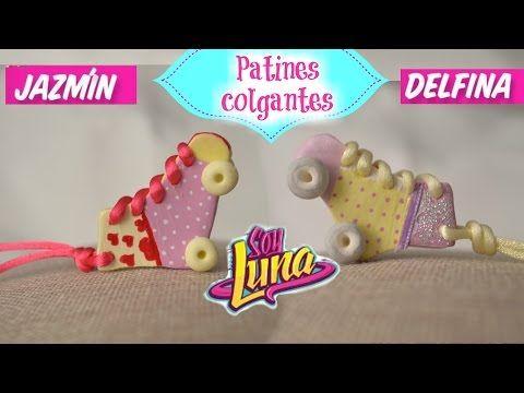 DIY- SOY LUNA- PATINES JAZMÍN-DELFINA /COLGANTES - YouTube