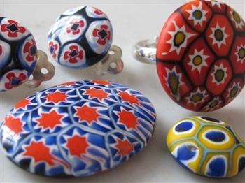 Mini-workshop: Werken met vintage-cabochons in Venetiaans glas