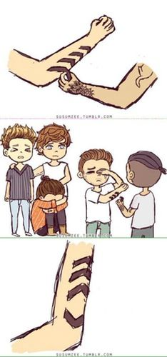 One Direction Cartoons About Zayn Malik Leaving That Will Make You Cry                                                                                                                                                                                 Mehr