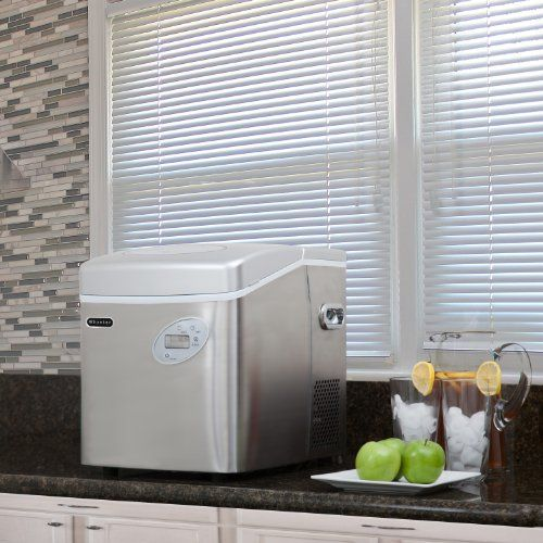 Whynter IMC-490SS Portable Ice Maker, 49-Pound, Stainless Steel - http://www.our-shopping-store.com/appliances.asp