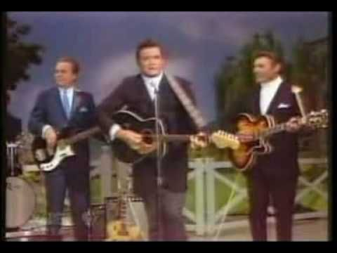 "Johnny Cash - Ring of Fire (live, 1968). ""Ring of Fire"" or ""The Ring of Fire"" is a country music song popularized by Johnny Cash and co-written by June Carter Cash (wife of Johnny Cash) and Merle Kilgore. The single appears on Cash's 1963 compilation album, Ring of Fire: The Best of Johnny Cash. The song was originally recorded by June's sister, Anita Carter, on her Mercury Records album Folk Songs Old and New (1963) as ""(Love's) Ring of Fire"". [Wikipedia]"