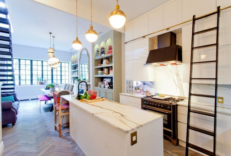 Design Inspiration: Genevieve Gorder | Small Hicks Pendants | shop now: http://www.circalighting.com/search_results.aspx?q=hicks%20pendant