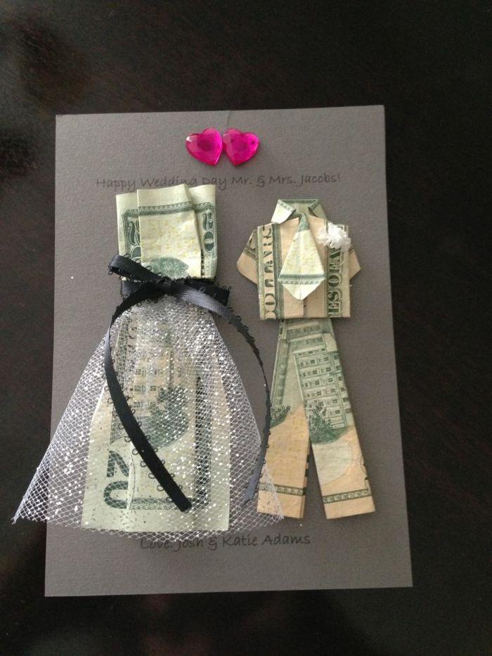 Geldgeschenke für Hochzeit – 22 kreative Ideen um viel Glück zu wünschen