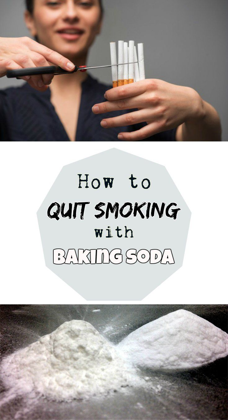 How to quit smoking with baking soda - Beauty-Total.com