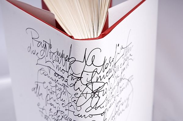 Script on a Binding // Love Poem - would love to have this pretty book sitting on my library shelf.