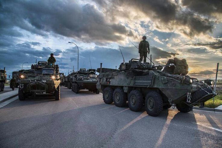 Canada's military on its way to High River, Alberta to aid in the floods (June 21, 2013).