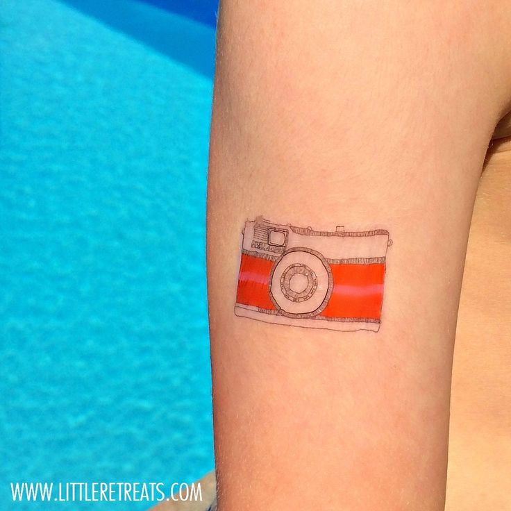 DIY Temporary Beach Tattoos