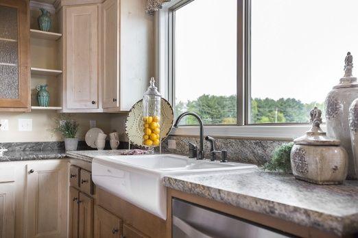 Beautiful Kitchen Sink Options #dreamkitchen #farmhousesink #kitchensink