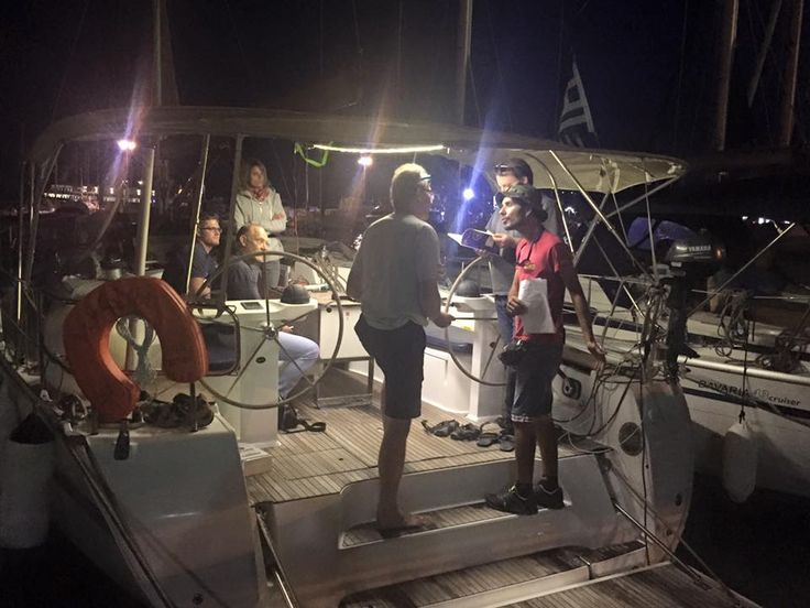 """Check in, """"night vision"""" ! ... an idea during continues family service. Kekeris Yachts ... a family Company !"""