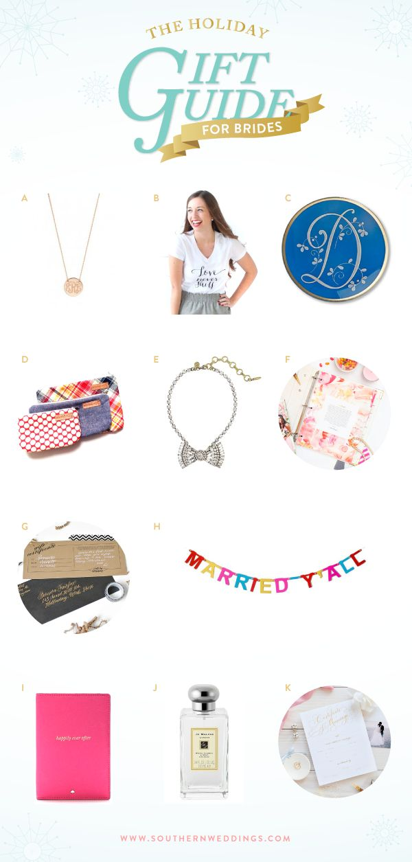 gift guide for brides!