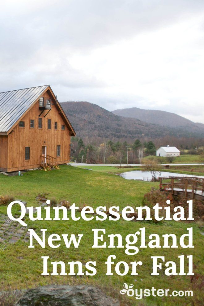 Fall activities like changing leaves, brewing apple cider, and cozy fireside chats are made even better when enjoyed from an adorable inn situated in New England. Here are 25 quintessential New England inns that are worth a visit this fall.