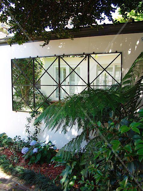 Double cross outdoor mirror | Garden mirror                                                                                                                                                                                 More