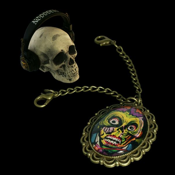 Headphones with attachable pendants  Link in Bio  Or if you want this particular product now, go here:  http://noddders.com/product/vintage-horror-headphones/  #subculture #gothic #noddders #retro #vintage #comics #dark #creepy #monster #vampire #devil #evil #blood #horror #goth #punk #blackjewelries #gothstyle #gothicfashion #skulls #alternative #underground #collection #collectibles #style #stylish #cemetery #graveyard #macabre #headphones