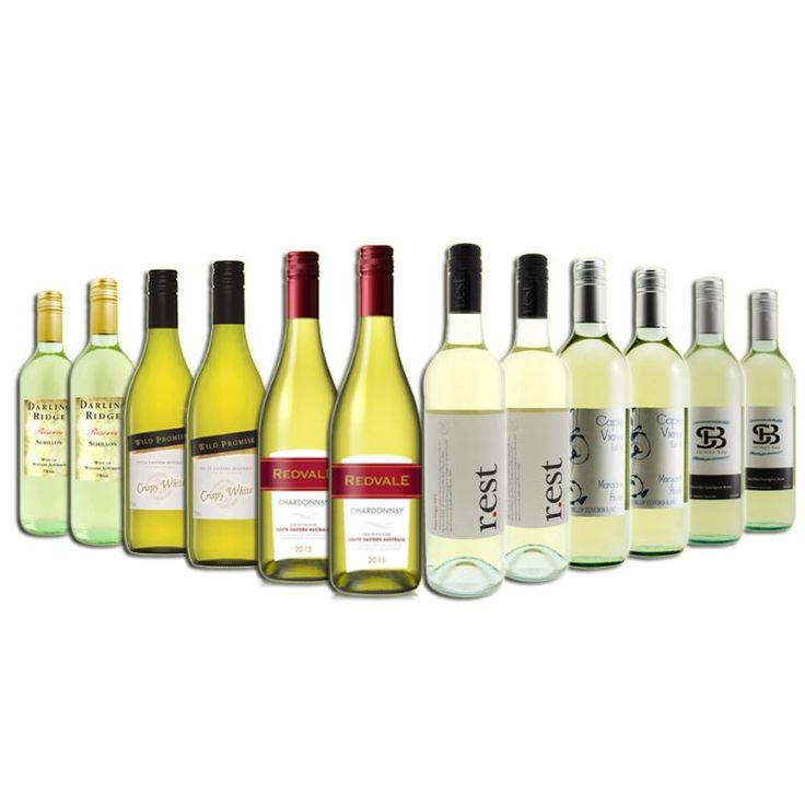 12 Bottle Mixed Pack of Bold Magical White Wines | Buy White Wines
