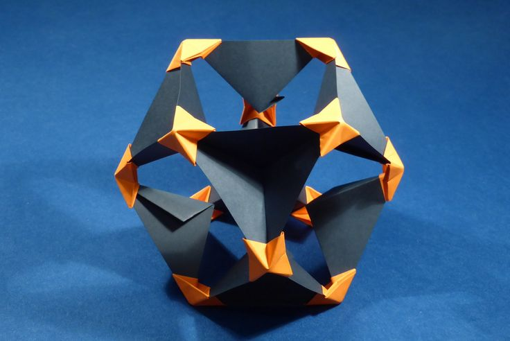 Cuboctahedron - Pyramid Vertex Module (PVM), inverted unit assembly