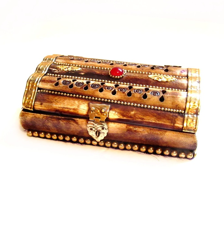 40 best wooden trinket jewelry boxes images on pinterest for Hobby lobby jewelry holder