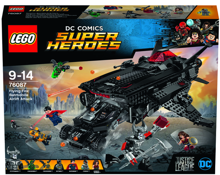 A Closer Look at the LEGO DC Comics Super Heroes Flying Fox: Batmobile Airlift Attack (76087). – The Brick Show
