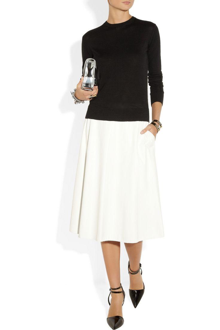 The Row|Ghent fine-knit cashmere and silk-blend sweater|NET-A-PORTER.COM