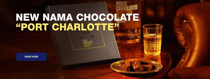 "ROYCE' Nama Chocolate ""Port Charolette"" Matcha chocolate"