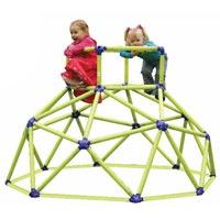 Supertof klimrek voor in je eigen achtertuin. Een keer geen hout of staal maar hip kunststof in neonkleuren! Coole vormgeving en mega aantrekkelijk voor de kids die er meteen op gaan klimmen, tenten bouwen....noem maar op.