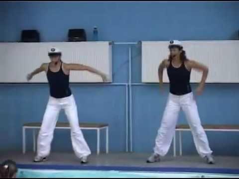 Аквааэробика Два капитана - YouTube