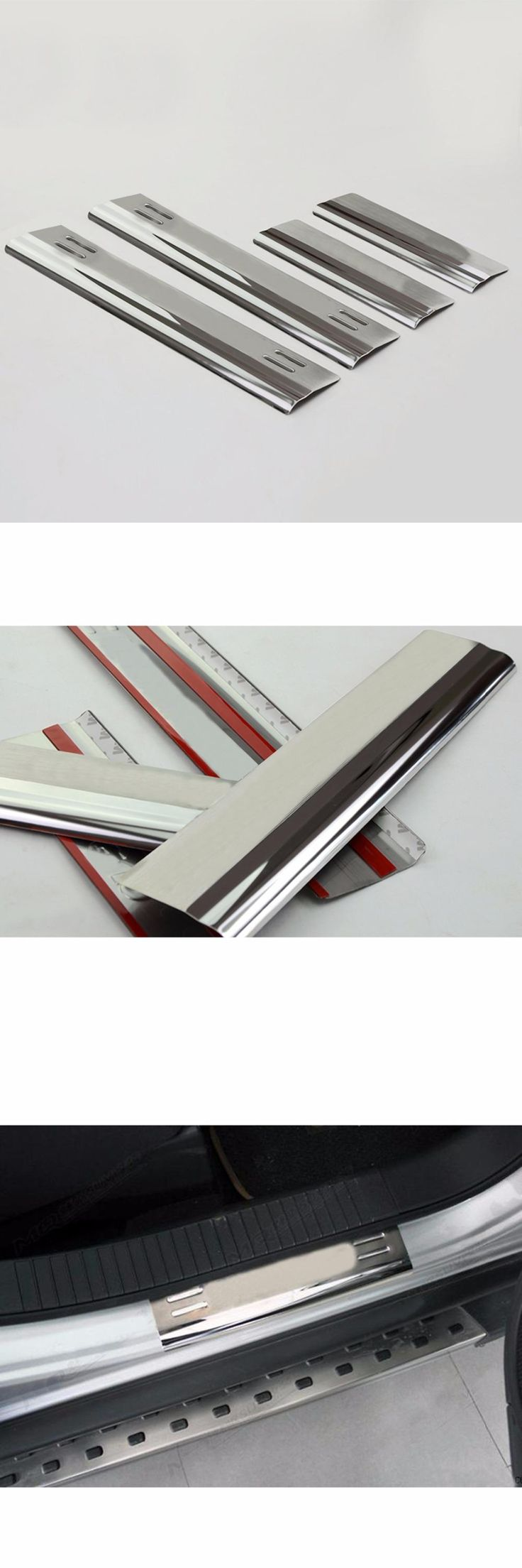 visit to buy abs chrome door sill scuff plate cover trims for jeep compass