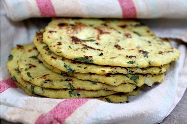 Cauliflower Tortillas From Just 4 Ingredients - Recipe