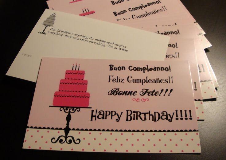 5558 best My Birthday images – Vista Print Birthday Cards