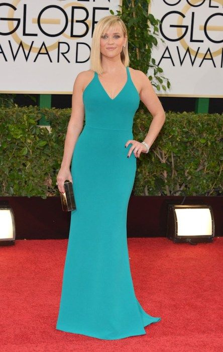 Reese Witherspoon at Golden Globe Awards 2014....