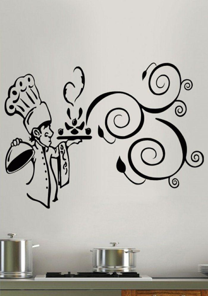 the 25+ best wandtattoos küche ideas on pinterest | wandtattoo