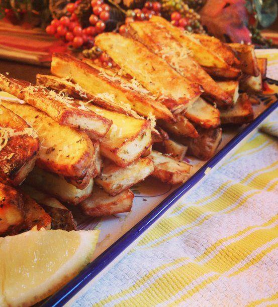 Recipe for Greek Roasted Potatoes