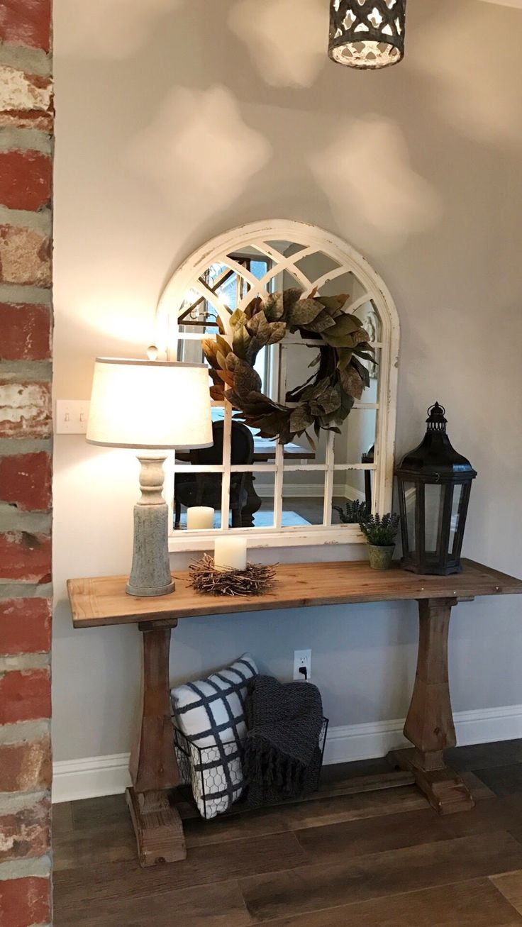 77+ Gorgeous Entryway Entry Table Ideas Designed With Every Style   entry table decor, entry table diy,entry table christmas decor, entry table decor modern #entrytable #tableideas #tablechristmas