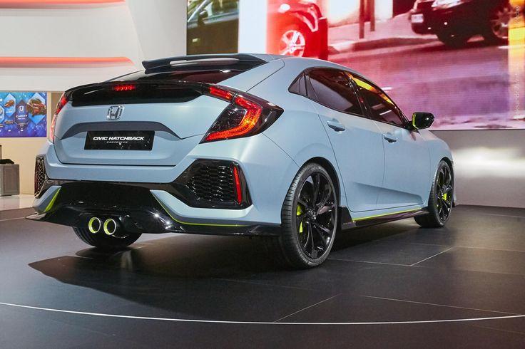 2016 Honda Civic Hatchback Prototype  #2016MY #Honda_Civic #Concept #Honda…