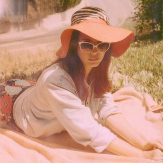 Lana Del Rey for Honeymoon shot by Neil Krug