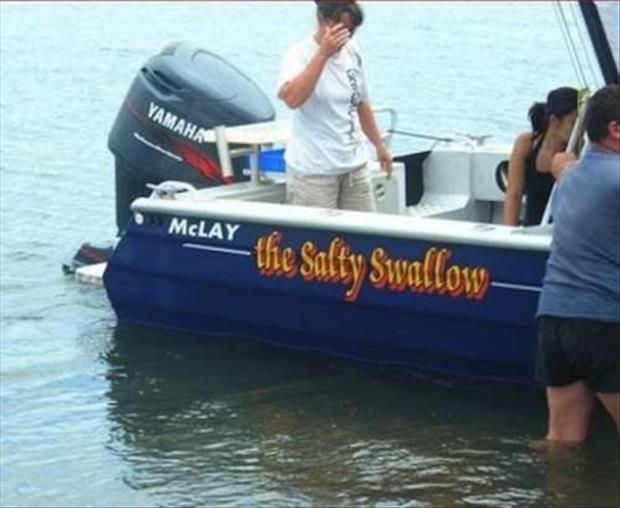 Creatively Funny Boat Names  22 Pics