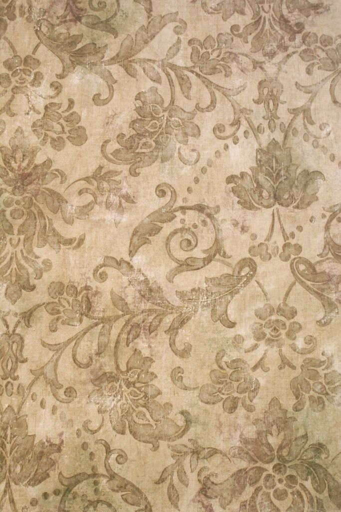 Damask Wallpaper Gold