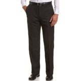 Haggar Men's Cool 18 Heather Gabardine Flat Front Pant,Black,38x29 (Apparel)  Very cool dree. Do you have it ? :D :p. Click this picture :)