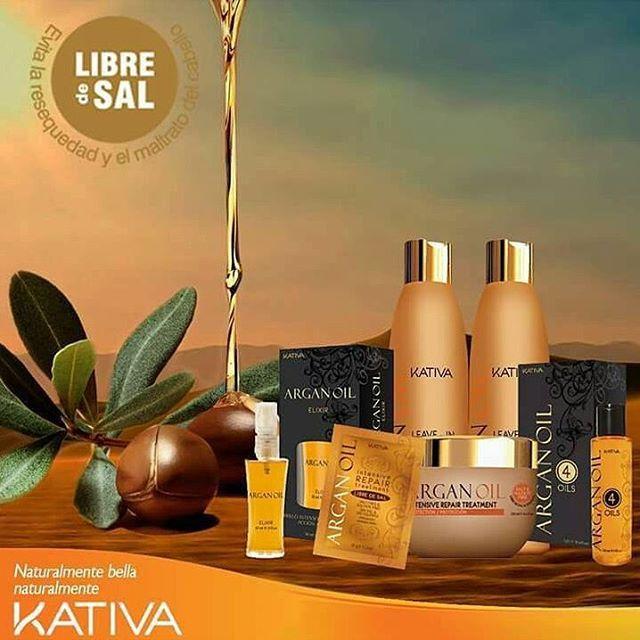 Η σειρά Kativa Argan Oil είναι μια σειρά προϊόντων με πιστοποίηση ECO,  εμπλουτισμένη με έλαιο argan και φυσικών στοιχείων Ωμέγα 3 και 9, καροτένια, βιταμίνη Ε και ελαϊκό οξύ,  τα οποία είναι ειδικά σχεδιασμένα για να παρέχουν προστασία, ενυδάτωση και λάμψη.