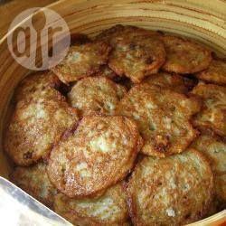 Photo recette : Latkes (galettes de pommes de terre juives de Hanouka)