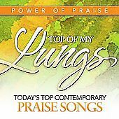 Power Of Praise Top Of My Lungs Praise Songs (CD, Music, Christian, 2008) New #Christian