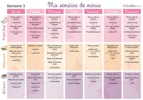 menu régime                                                                                                                                                     Plus
