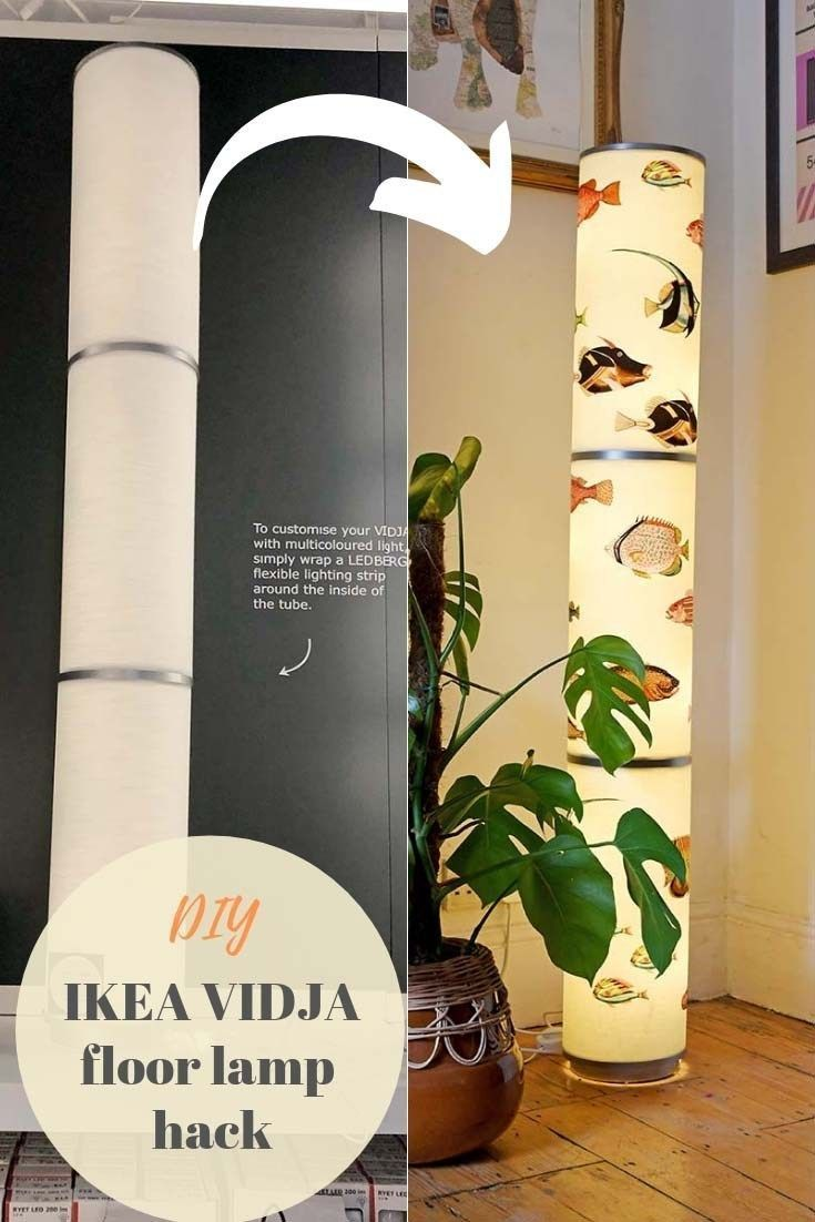 A Unique Diy Fun Ikea Floor Lamp Hack