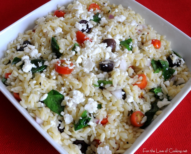 greek side dishes | For the Love of Cooking » Greek Orzo