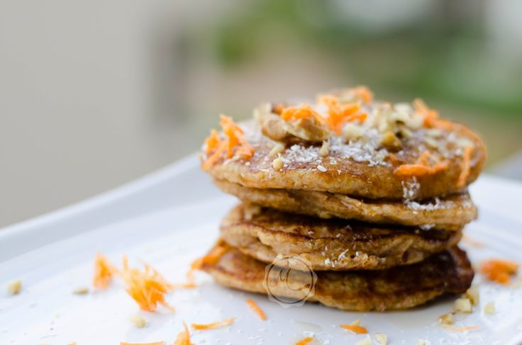 Pancakes with Carrot and Coconut ~ Mangiare squisito ~ Foodblog